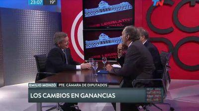Ganancias: las 10 definiciones de Emilio Monzó tras la derrota legislativa de Cambiemos