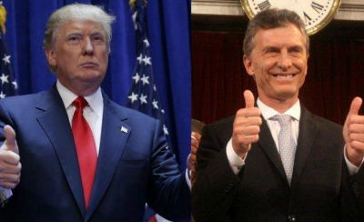 Macri ordenó acelerar los contactos con Trump para profundizar las relaciones