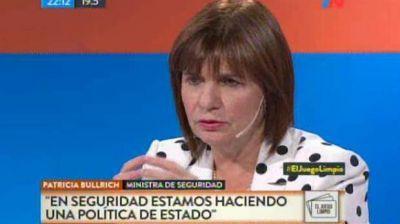 Patricia Bullrich responsabilizó al jefe de custodia de Cristina Kirchner por no hacer el trámite para viajar con armas