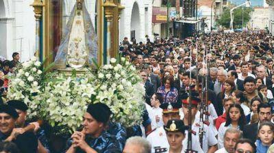 Más de 15.000 santiagueños participaron en la festividad de la Virgen del Valle