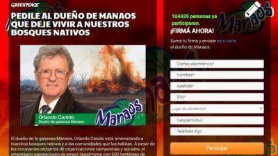 Juntaron más de cien mil firmas contra el dueño de Manaos