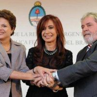Cristina Kirchner se muestra en San Pablo con Lula y Dilma