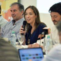 Vidal aprovechó un encuentro del PRO para apuntalar el semblante de Mauricio Macri