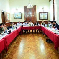 Alcalde del FpV selló acuerdo con Nación y Provincia para reforzar la seguridad