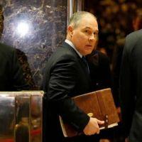 Trump nombró a un negacionista del cambio climático en Medio Ambiente