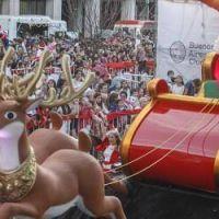 Más de 60 mil personas asistieron al Desfile de Navidad