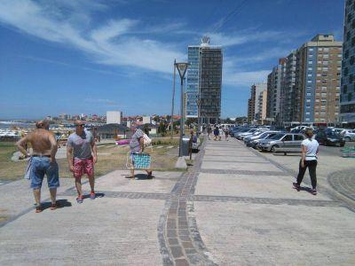 Gran convocatoria turística durante el fin de semana largo en Miramar