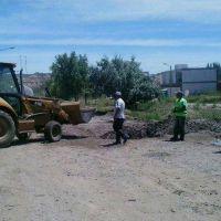 Los vecinos de Rincón de Emilio denuncian otra vez que hay derrame de líquidos cloacales