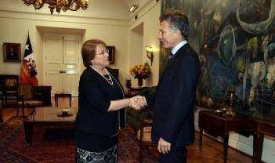 Macri recibirá el viernes a Michelle Bachelet