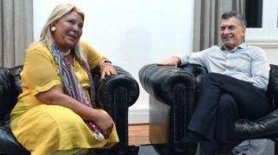 Elisa Carrió se erigió como la más importante opositora del oficialismo y la más oficialista de la oposición