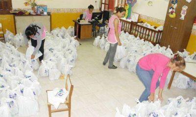 Desarrollo Social prepara entrega de 180.000 módulos navideños en toda la provincia