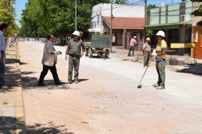 Finaliza la obra del colector cloacal en la calle Emparanza