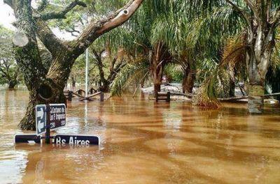 Prorrogan por otros 120 días la emergencia hídrica en Entre Ríos