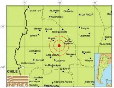 Media docena de sismos sacudieron San Juan la noche del domingo