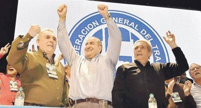 CGT cierra año en paz con Macri y en deuda con los trabajadores
