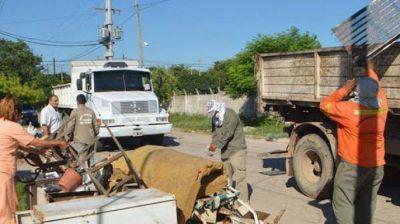 El municipio intensifica las tareas de prevención del dengue en los barrios