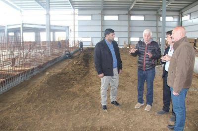 Planta potabilizadora de Río Grande: Gobierno destacó la reactivación de la obra tras estar paralizada