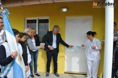 Junto a vecinos, Zara dejó inaugurada la sala de primeros auxilios en Los Pocitos