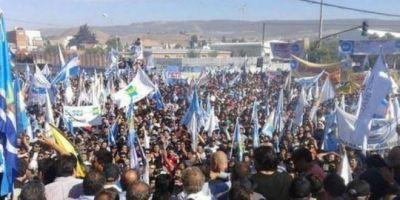 """Los petroleros de Chubut preparan la """"gran movilización"""" para mañana"""