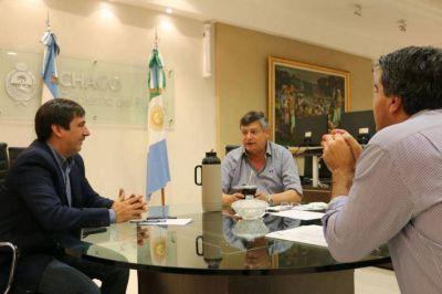 Peppo anunció 50 cuadras de pavimento para Resistencia a ejecutarse a través de Vialidad Provincial