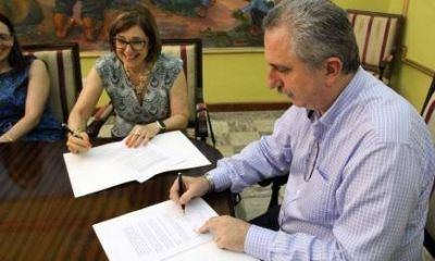Desarrollo Sustentable: Passalacqua firmó convenio con Estado brasileño de Río Grande Do Sul
