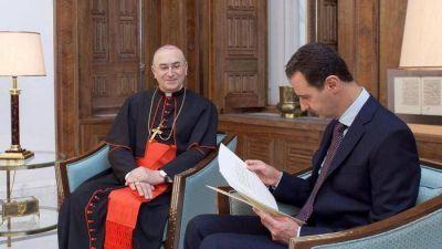 Siria; la carta de Francisco a Asad