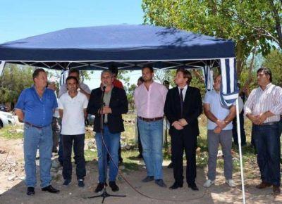 El Gobierno inauguró obras en los departamentos Ayacucho y Belgrano