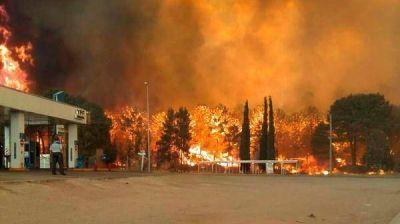Valeria del Mar: Sofocaron el incendio forestal y mantendrán un control sobre la zona