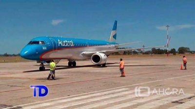 Llegaron a la ciudad 14 vuelos directos del interior del país