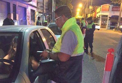 El Municipio despliega operativos de alcoholemia en todos los barrios