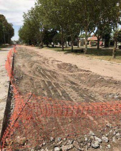 El intendente de Carlos Casares satisfecho con la realización de obras públicas