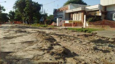 Solicitan información sobre obra de desagüe paralizada en Guadalupe