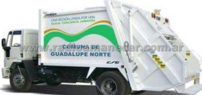 Guadalupe Norte comprará un camión compactador de residuos
