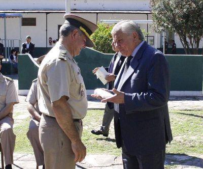 Infante en la asunción de nuevas autoridades locales de Gendarmería Nacional