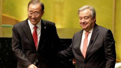 Antonio Guterres jura el cargo como nuevo secretario general de la ONU