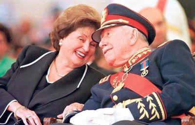 Chile investiga a la viuda de Pinochet