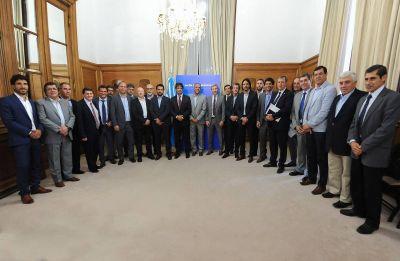 Ibáñez en reunión de Frigerio con 21 ministros de economía