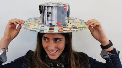 Un concurso de diseño de sombreros para prevenir el cáncer de piel