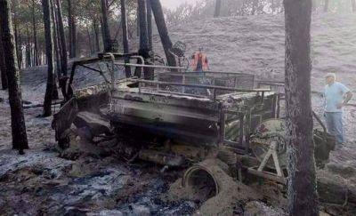 "Afirman que el incendio en Valeria del Mar ""fue intencional"""