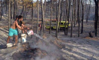 Sofocan por completo el incendio en Valeria del Mar y agradecen a la población