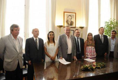 Gastón Morando asumió como presidente del Sistema Integrado de Salud Pública