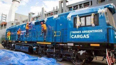 Compraron locomotoras para el tren de cargas San Martín: no se renovaban desde hace 44 años