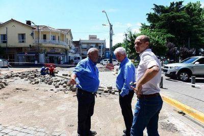 San Fernando renueva los adoquines de sus calles históricas