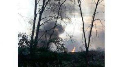 Buscan develar el misterio del fuego en el basural municipal