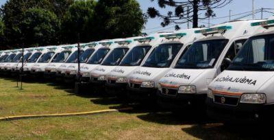 Flota propia: llegan cinco nuevas ambulancias a Mar del Plata
