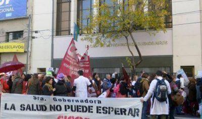Médicos y judiciales bonaerenses le dan el ultimátum al gobierno de Vidal previo a encarar un paro