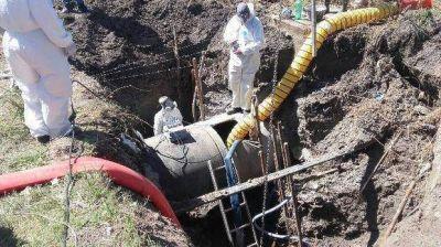 El arreglo del acueducto se estiró y los trastornos por el agua no aflojaron