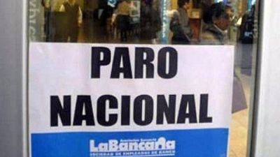 Trabajo dictó conciliación obligatoria pero los bancarios harán el paro