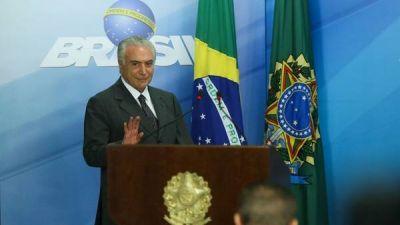 El Senado de Brasil aprobó una ley clave para el gobierno de Temer