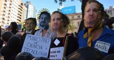 Jornada de protesta contra el ajuste en Ciencia y Tecnología